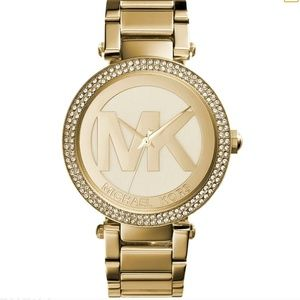 MK Logo Watch